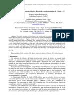 SIG aplicado a segurança no trânsito - Estudo de caso no município de Vitória - ES