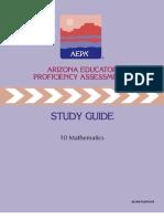 AZ_Field10_StudyGuide