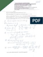 Rezolvari Bac 2009 a M2 - Subiectul I