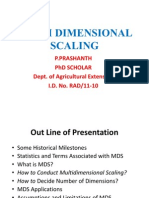 Multi Dimensional Scaling -Angrau - Prashanth
