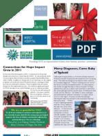 December 2011 HCW Newsletter