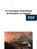 La Campagne Scientifique de Napoleon en Egypte