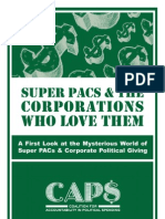 Super PACs and the Corporations Who Love Them