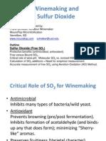 Winemaking-SO2
