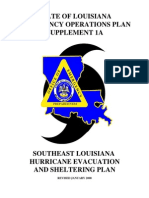 EOP Louisianna Emergency Response Plan