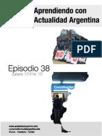 Aprendiendo Con Actualidad Argentina Episodio 38