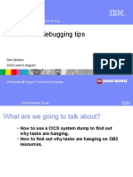 CICS DB2 Debugging Techniques