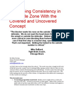 Developing Consistency in the Inside Zone With the Covered and Uncovered Concept