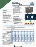 MINERA Technical Data Sheet - E0Dk Rev A