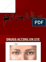 Drugs Acting on Eye 5
