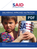 Delivering Improved Nutrition