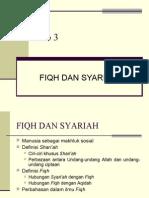 Bab 3 - Fiqh & Syariah