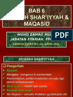 Bab 6 - Siasah Syariah & Maqasid