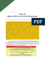 El Reinado de Alfonso XIII (1902-1931) (2)