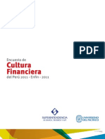 Primera Encuesta de Cultura Financiera Perú 2011 (ENFIN 2011)