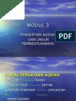 Bab 3 - Konsep Akidah & Iman