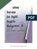 Gotthard Jaeschke Kurtulus Savasi Ile Ilgili Ingiliz Belgeleri 2