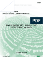 Financing the Arts and Culture in the EU