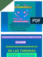 CAPITULO 4.- DIMENSIONAMIENTO DE TUBERÍAS RETER PERÚ