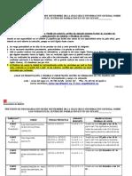 Selecciones Prevision rio SEGUNDO Semestre 2011