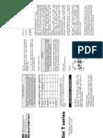 Instrucciones Mini T Pro MM850387-00