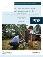 Nutritional Impact Assessment Tool