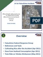 HSS Support to Fukushima FCOG Meeting Final ED CEC TT Oct 13 2011