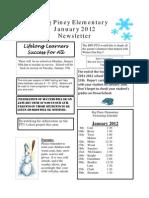 Jan 2012 BPE News