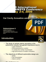 Ansys Car Cavity Acoustic 253