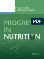 6th Report on the World Nutrition Situation:Progress in Nutrition
