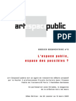 Dossier Espace Public Espace Des Possibles
