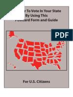 Federal Voter Registration 1209 English