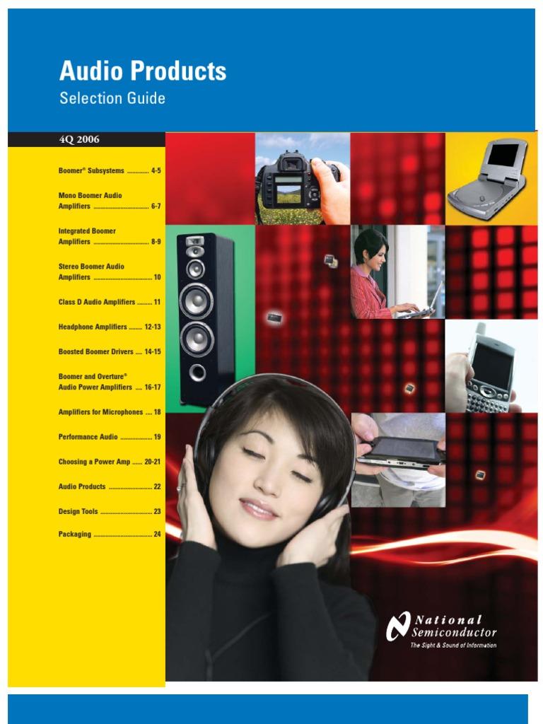 Audioselguide Amplifier Headphones Boomer Audio Power Circuit Diagram