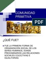 Comunidad Primitiva en El Mundo