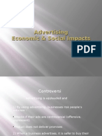 AdvertisingEconomic & Social Impacts