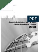 Anuário Estatístico de Portugal 2008 (INE 2010)