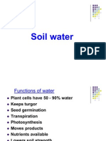 Soil WaterNEW