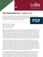 Correspondence Carr Honeit 2