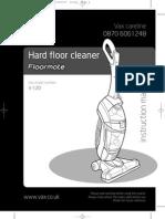 Floormate Vax v 120 User Guide