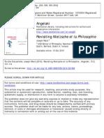 Revisiting Nietzsche Et La Phi Lo Sophie