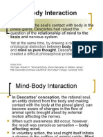Mind Body Interaction