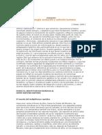 Antropología evolución y nutrición humana