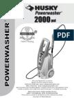 Husky 2000 Smart Owners Manual