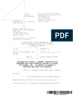 Circuit City C.F.O.'s Bankruptcy Filing Affidavit