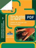 GUÍA DE ACTUACIÓN CON EL ALUMNADO CON TDAH