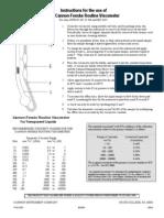 P10-0100 CFR Instructions