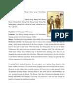 Mnong Ethnic Group