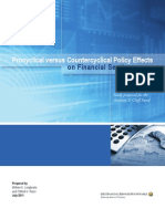 Procyclical versus Countercyclical Policy Effects on Financial Markets