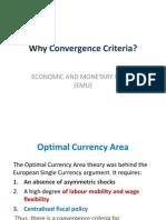 Why Convergence Criteria
