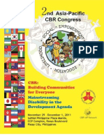2nd Cbr Congress Programme Book Download